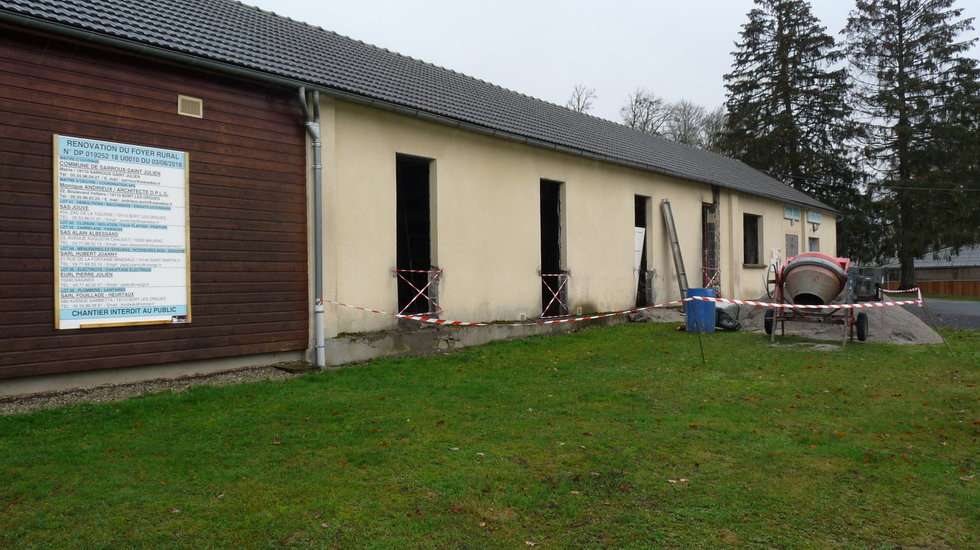 TRAVAUX DE RENOVATION DU FOYER RURAL